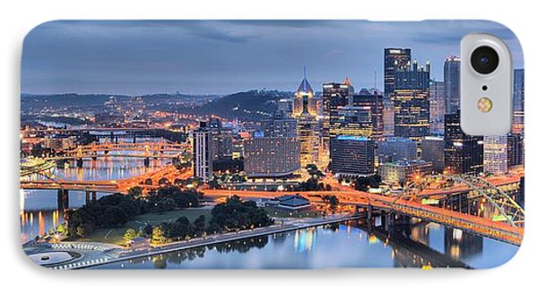 Stormy Morning Skies Over Pittsburgh IPhone Case