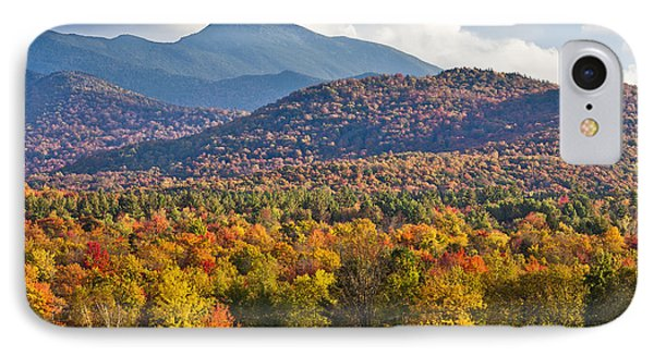 Stormy Mount Mansfield Phone Case by Alan L Graham