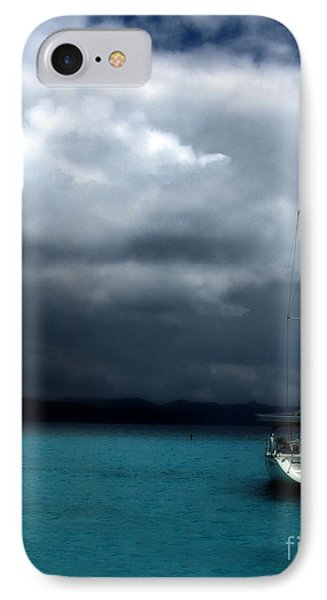 IPhone Case featuring the photograph Stormy Sails by Heather Green