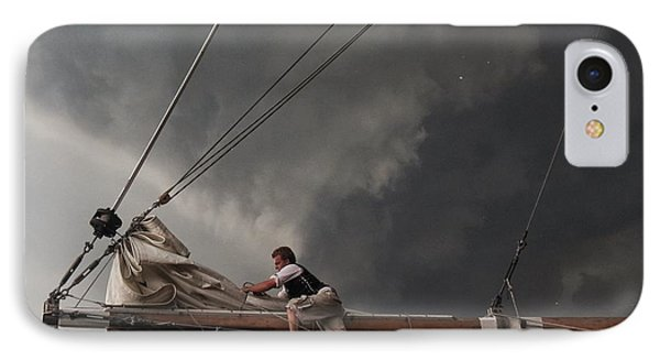 Stormy Sails IPhone Case by Nikki McInnes