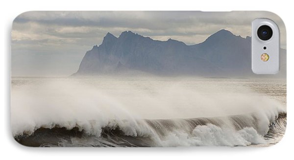 Stormy Sea IPhone Case by Ashley Cooper