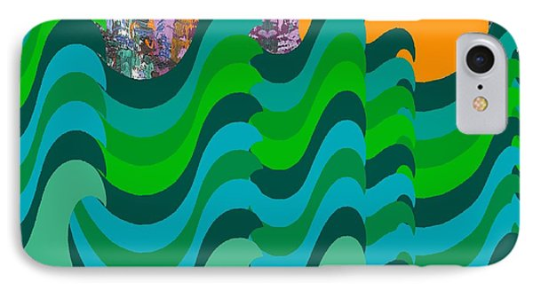 Stormy Sea Phone Case by Patrick J Murphy