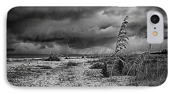 Stormy Seas IPhone Case by Anne Rodkin