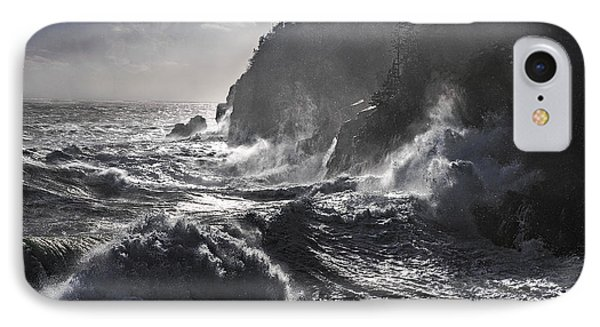Stormy Seas At Gulliver's Hole IPhone Case by Marty Saccone