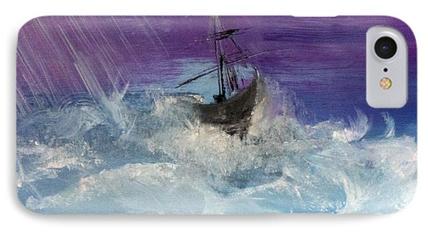 Stormy Seas Phone Case by Lisa Kaiser