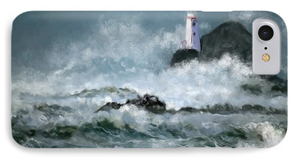 Stormy Seas IPhone Case by Michael Malicoat