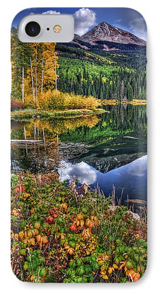 Stormy Skies At Woods Lake IPhone Case by Priscilla Burgers