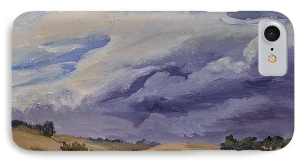 Stormy Skies IPhone Case by Jane Thorpe