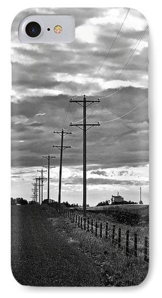 Stormy Skies Phone Case by Lisa Knechtel