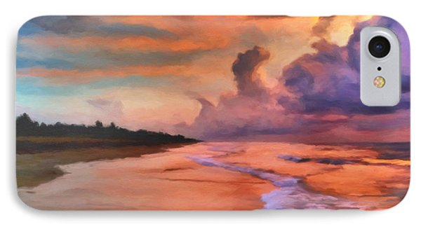 Stormy Skies Phone Case by Michael Pickett