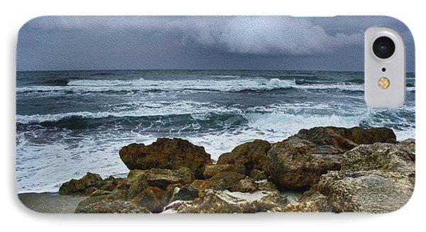 Stormy Sky And Ocean Waves IPhone Case
