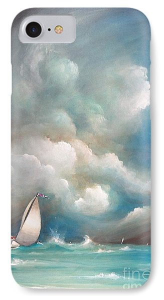 Stormy Sunday IPhone Case by S G