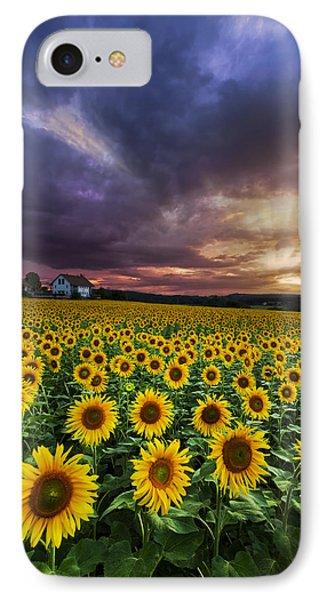 Stormy Sunrise Phone Case by Debra and Dave Vanderlaan