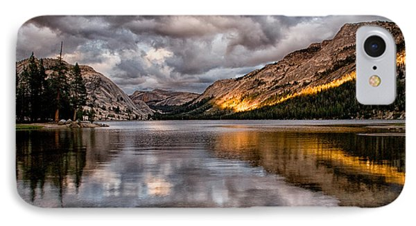 Stormy Sunset At Tenaya IPhone Case by Cat Connor
