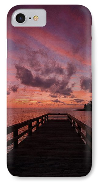 Stormy Sunset IPhone Case by Beverly Stapleton