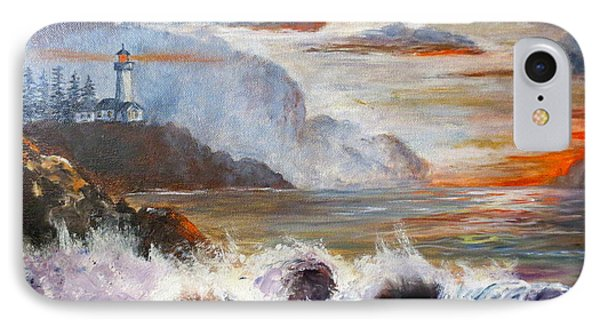 Stormy Sunset Phone Case by Lee Piper