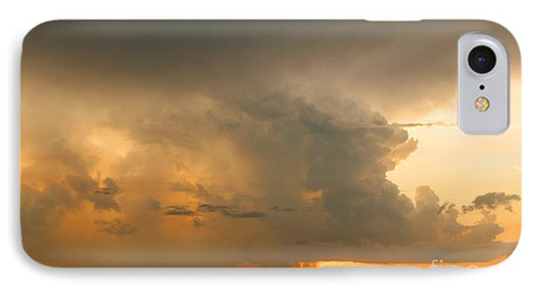 Stormy Sunset IPhone Case by Mariarosa Rockefeller