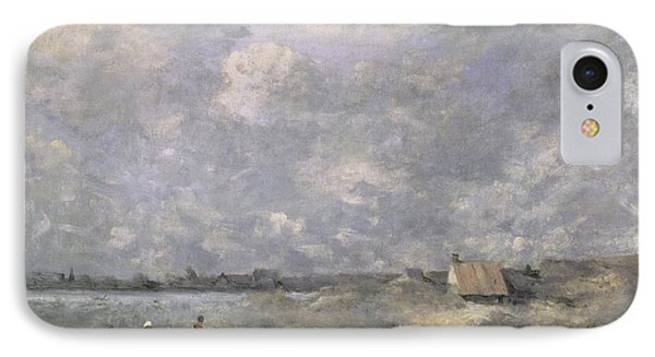 Stormy Weather, Pas De Calais IPhone Case by Jean Baptiste Camille Corot