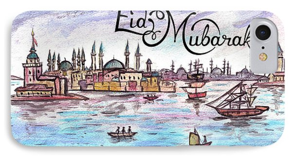 Story Of Istanbul Card IPhone Case