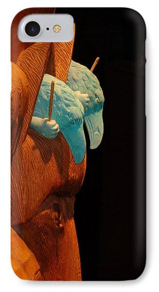Story Pole IPhone Case by Cheryl Hoyle