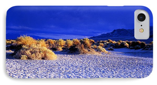 Stove Pipe Wells  Death Valley IPhone Case