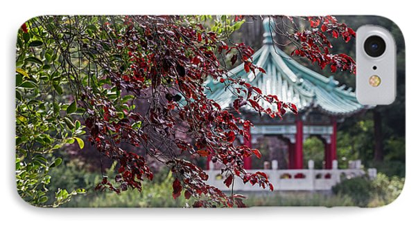Stow Lake Pavilion IPhone Case