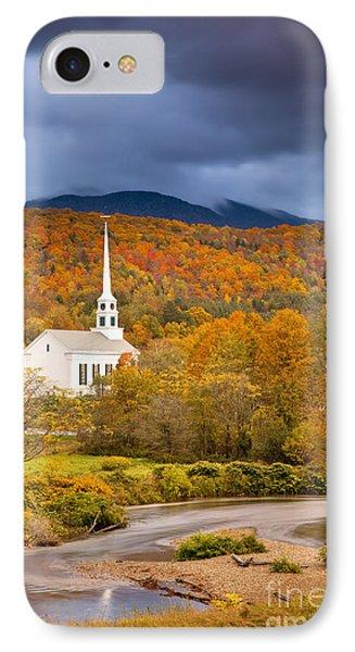 Stowe Church Phone Case by Brian Jannsen
