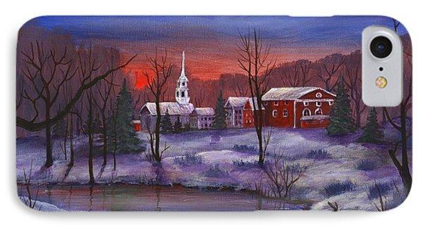 Stowe - Vermont Phone Case by Anastasiya Malakhova