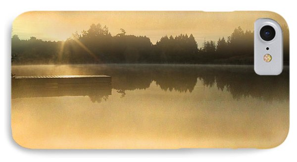 Stowell Lake On Salt Spring Island Phone Case by Lyn  Perry