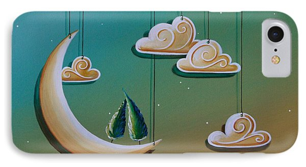 Stranded In The Evening Sky IPhone Case by Cindy Thornton