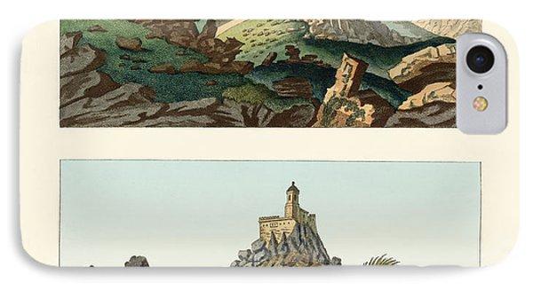 Strange Abbeys In Portugal Phone Case by Splendid Art Prints