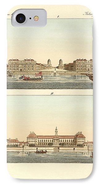 Strange Buildings In England Phone Case by Splendid Art Prints