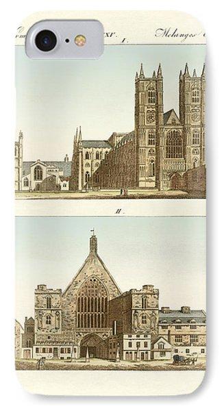 Strange Buildings In London Phone Case by Splendid Art Prints