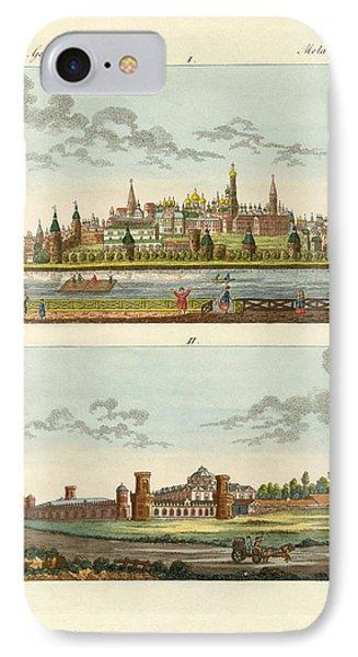 Strange Buildings In Russia Phone Case by Splendid Art Prints