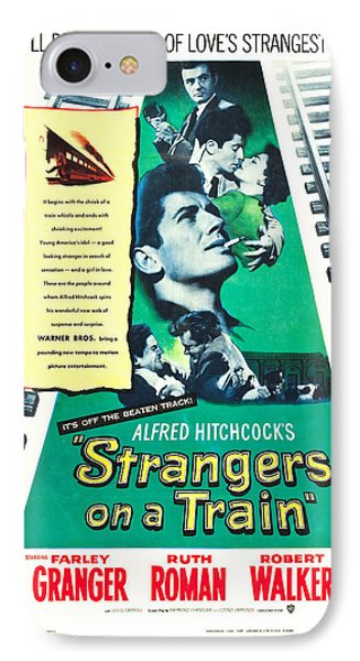 Strangers On A Train - 1951 IPhone Case by Georgia Fowler