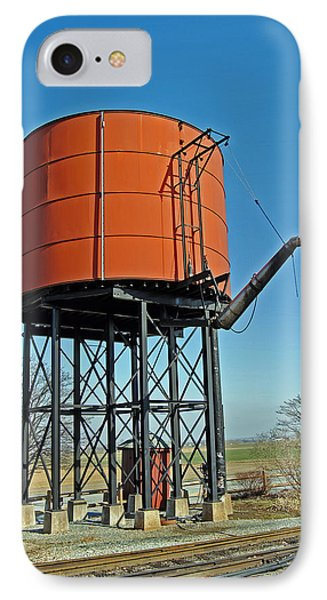 Strasburg Water Tower Phone Case by Skip Willits
