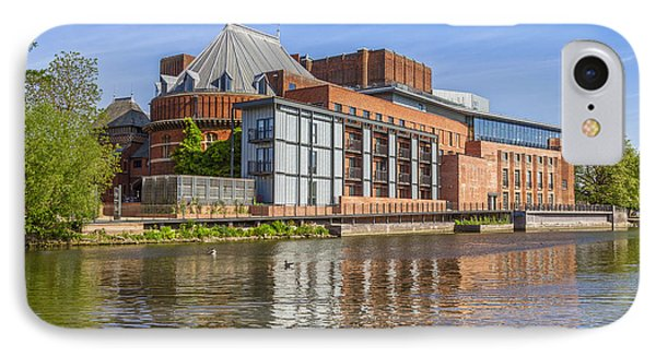 Stratford Upon Avon Royal Shakespeare Theatre Phone Case by Colin and Linda McKie