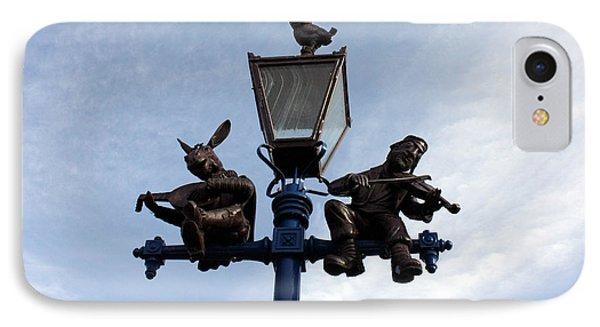 Stratford's Jewish Lamp Post Phone Case by Terri Waters