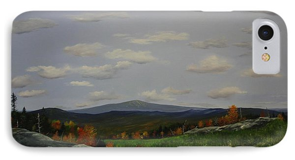 IPhone Case featuring the painting Stratton View by Ken Ahlering