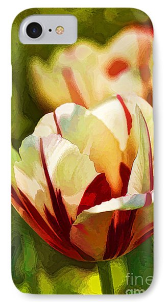 IPhone Case featuring the photograph Strawberries And Cream by Linda Blair