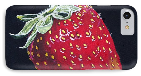 Strawberry Phone Case by Aaron Spong