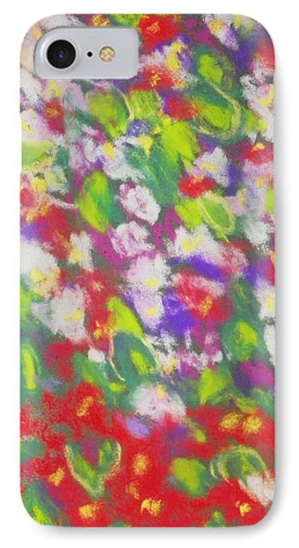 Strawberry Begonias II IPhone Case by Shirley Moravec