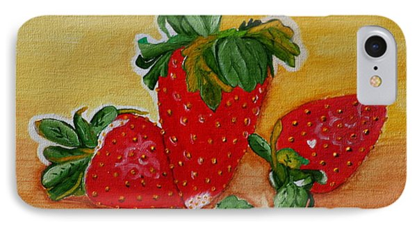 Strawberry Delight IPhone Case
