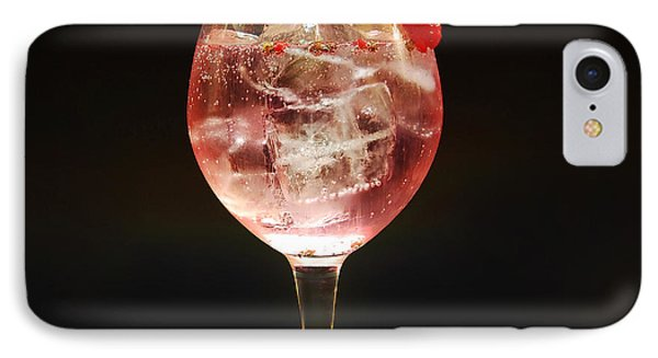 Strawberry Gintonic IPhone Case