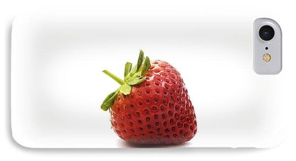 Strawberry II Phone Case by Natalie Kinnear