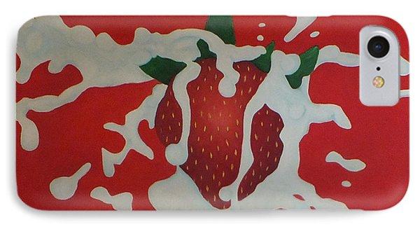 Strawberry Phone Case by Sven Fischer