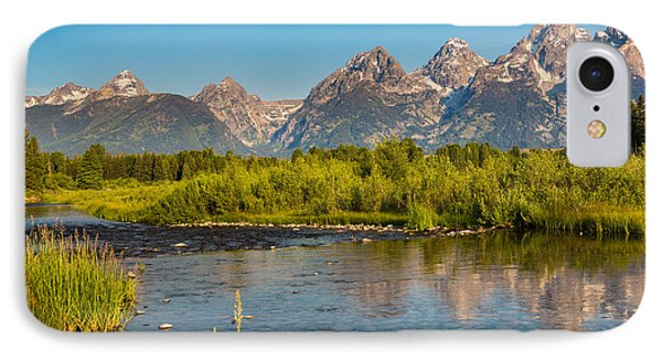 Stream At The Tetons Phone Case by Robert Bynum