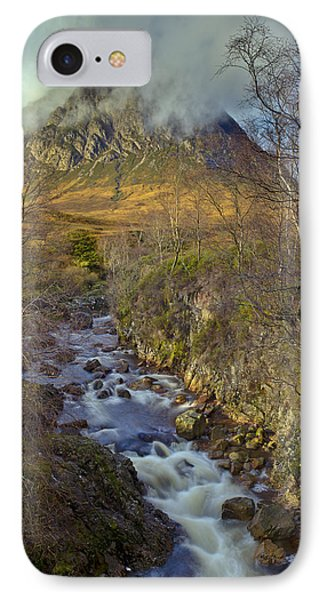 Stream Below Buachaille Etive Mor IPhone 7 Case by Gary Eason