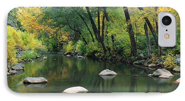 Stream Cottonwood Canyon Az IPhone Case by Panoramic Images