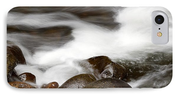 Stream Flowing  Phone Case by Les Cunliffe